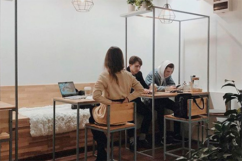 Open Coffee, кофейня